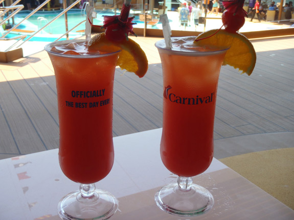How Much Are Alchoholic Drinks On A Carnival Cruise