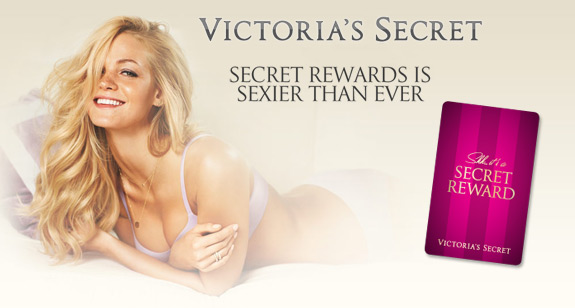 Victoria's Secret Secret Reward Card