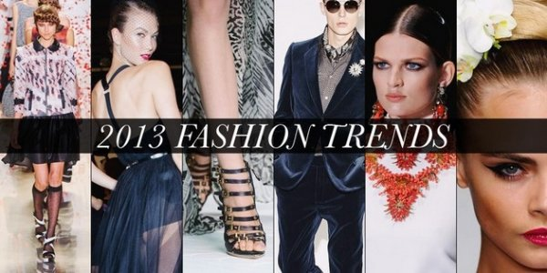 2013 Fashion Trends