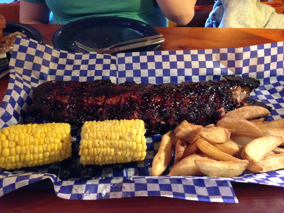 Famous Dave's Baby Back Ribs