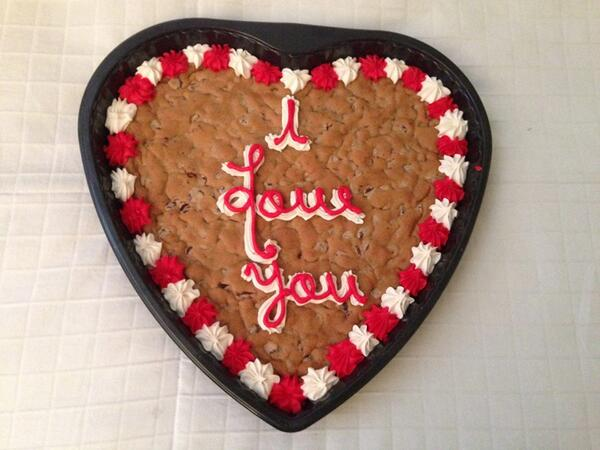 V-Day Cookie
